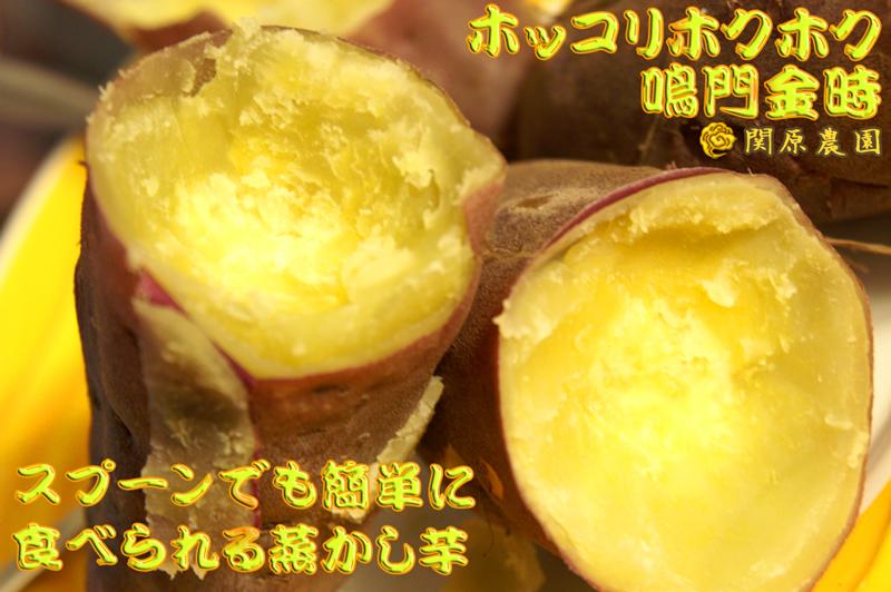ほスプーンでも簡単に食べられる蒸かし芋